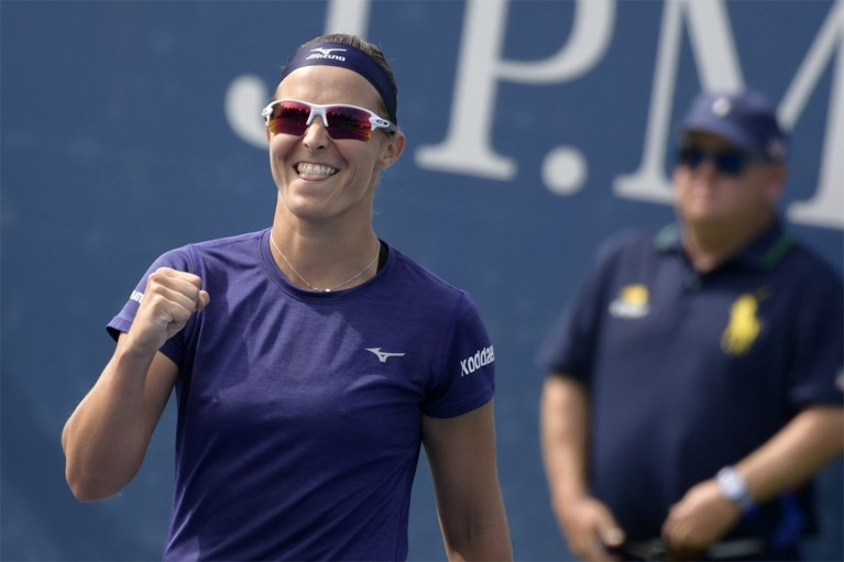Elise Mertens wint vlot haar eerste wedstrijd op US Open, ook Kirsten Flipkens plaatst zich voor tweede ronde