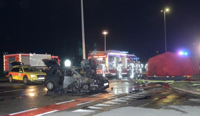 Motorrijder ernstig gewond na zware klap tegen auto op N60
