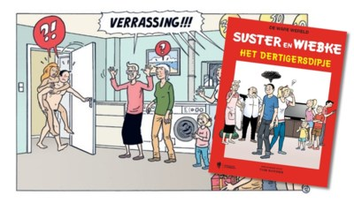 Een bedriegende Suster en een homoseksuele Lambert: parodie op 'Suske en Wiske' is veel minder braaf dan de originele versie
