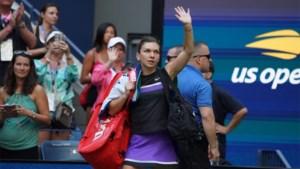 US OPEN. Titelverdedigster Naomi Osaka neemt tweede horde, Simona Halep verslikt zich in nummer 116 van de wereld