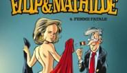 Koningin Mathilde in haar blootje op cover van stripalbum
