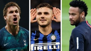 TRANSFERGERUCHTEN. Tijd dringt voor Neymar, Napoli haalt nieuwe spits en wat met Mauro Icardi?