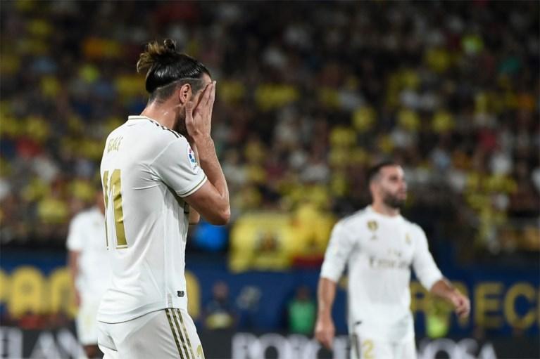 Gareth Bale redt zwalpend Real Madrid van nederlaag tegen Villarreal, Welshman pakt twee domme gele kaarten in slotfase