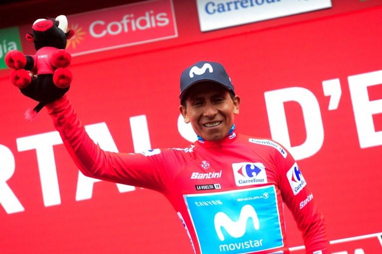 Door noodweer niet te zien op tv: Primoz Roglic werd in Vuelta omvergereden door motor