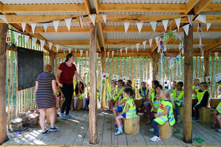 In een bos, bij de hoogbegaafden, in een splinternieuw gebouw: hier was de eerste schooldag extra speciaal