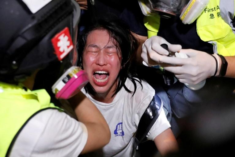 Opnieuw incidenten in Hongkong