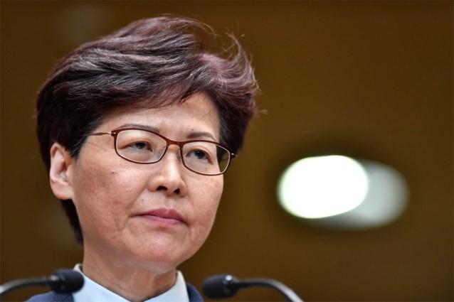 """""""Hongkongse regeringsleider Carrie Lam kondigt intrekking van omstreden uitleveringswet aan"""""""