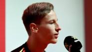 Yari Verschaeren voor het eerst bij de Rode Duivels: pas afgestudeerd en toch eerste schooldag