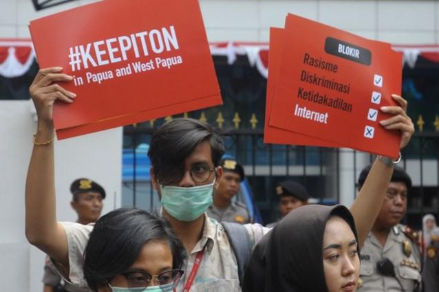 Indonesië start internet weer op in Papoea