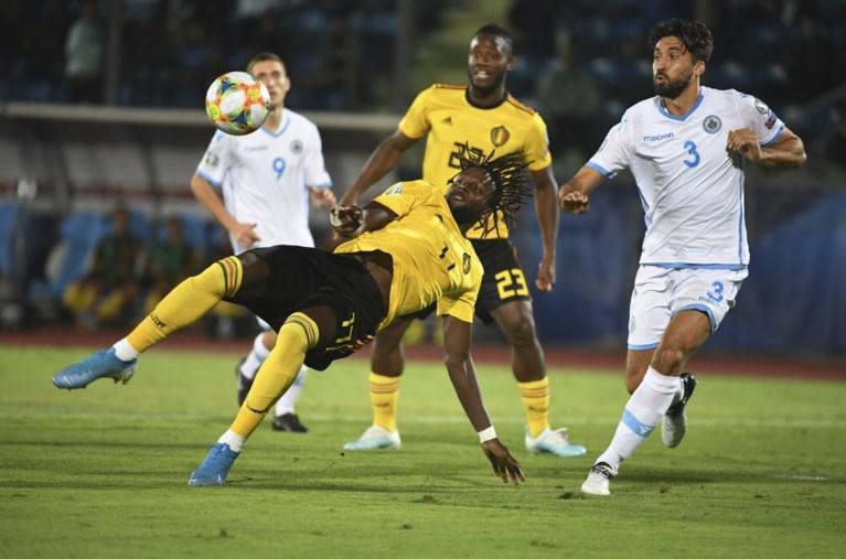 Zonder Lukaku draait het vierkant: Rode Duivels hebben goedkope penalty nodig tegen San Marino