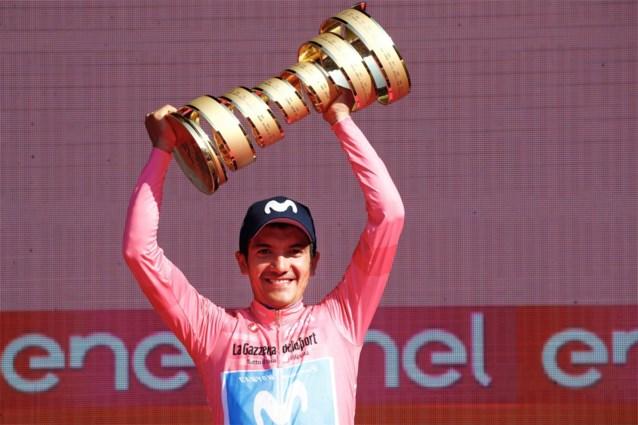 Pijnlijk: Giro-winnaar Carapaz moet passen voor Ronde van Groot-Brittannië door visumproblemen