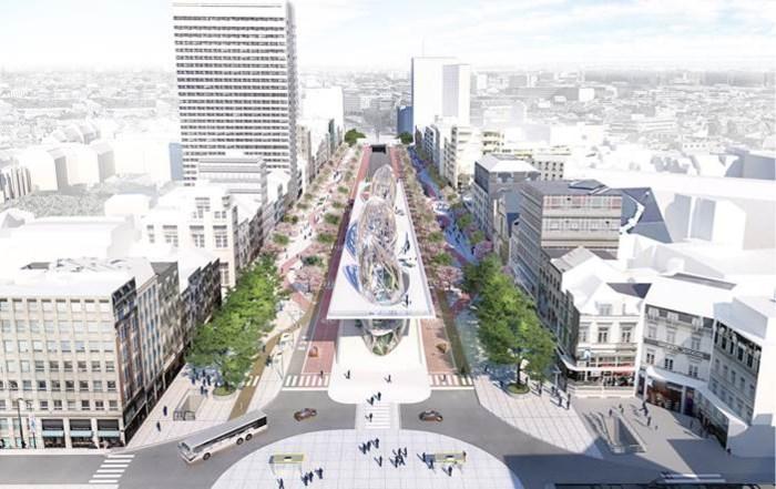 Dan ziet Pascal Smet het toch anders: handelaars geven auto meer plaats in eigen plan voor handelswijk
