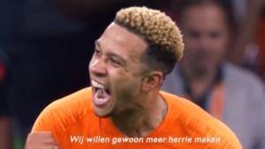 """Oranje barst weer van het zelfvertrouwen en daagt Duitsland uit met bijzondere video: """"De volgende golf is op komst"""""""