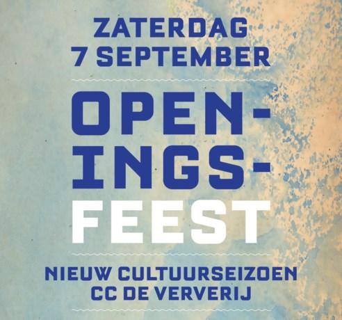 CC De Ververij start nieuwe seizoen met groot openingsfeest