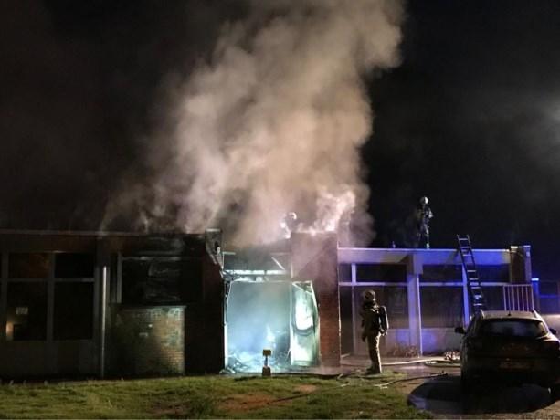 Chirolokalen deels vernield door uitslaande brand in Wijnegem