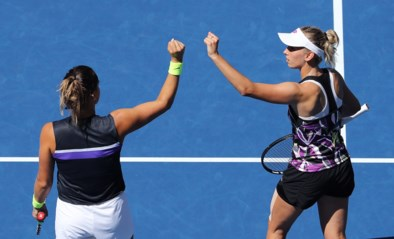 Elise Mertens bereikt eerste grandslamfinale na felbevochten dubbelzege op US Open
