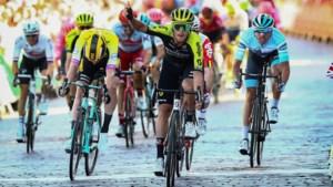 Trentin onttroont Groenewegen na sprintzege in Ronde van Groot-Brittannië