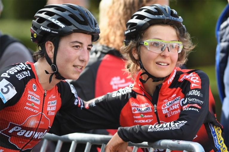 """Maud Kaptheijns wint in Eeklo bij de vrouwen, maar wederoptredende Jolien Verschueren is heldin van de dag: """"Hier zijn is een overwinning"""""""