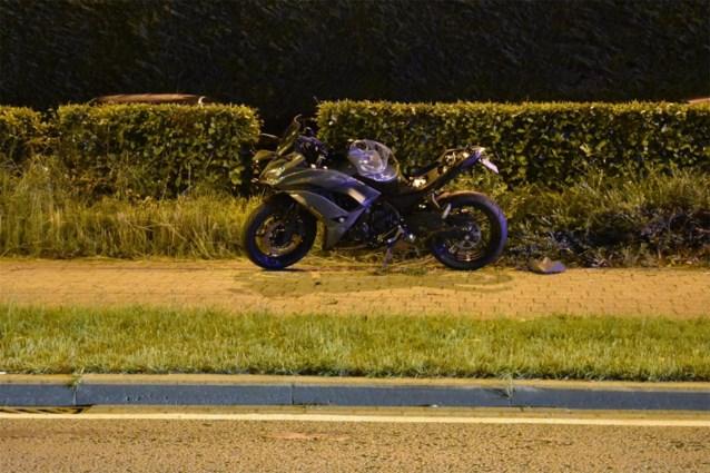Motorrijder overleden na zware crash