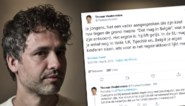 """Thomas Vanderveken spreekt vader aan die zoon tegen grond mept: """"Dat mag in België, antwoordde hij. Het ergste is: hij heeft gelijk"""""""