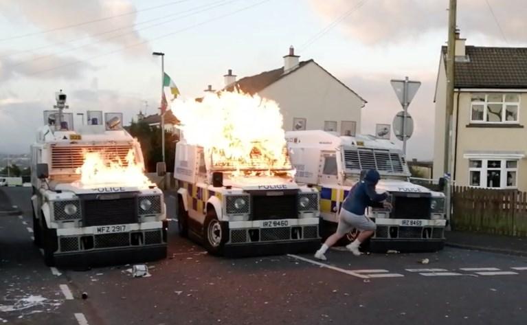 De bom die wijkagenten moest doden: dreigende Brexit doet geweld weer oplaaien in Noord-Ierland