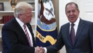 Russische minister Lavrov ontkent dat Trump hem geheime informatie gaf