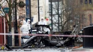 Noord-Ierse politie aangevallen met benzinebommen