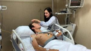 """Rigoberto Uran na operatie van 7 uur: """"Blij dat ik nog leef"""""""