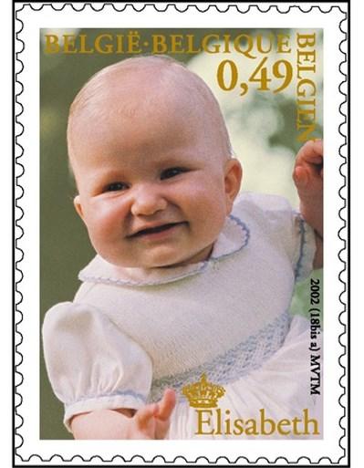 Elisabeth krijgt postzegel voor 18de verjaardag (maar die moet nog geheim blijven)