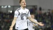 Bleke Duitsers met moeite voorbij Noord-Ierland maar ze scoorden wel de mooiste goal van de avond