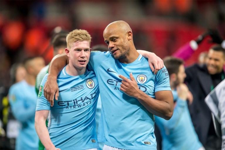 """Manchester City zwaait vanavond definitief Vincent Kompany uit: """"Afscheid tussen de sterren"""""""
