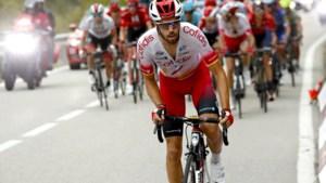 Jesus Herrada, die Teuns van ritwinst hield, gooit de handdoek in de Vuelta