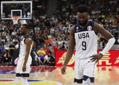 De reus is geveld: Verenigde Staten lijden historische maar niet verrassende nederlaag op WK basketbal