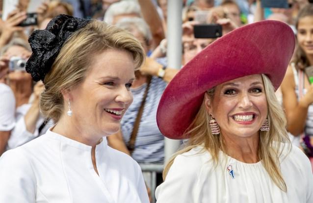 Duitsers meer geïnteresseerd in Máxima dan in Mathilde