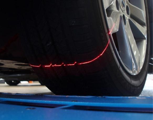 Politie kan binnenkort met een scanner zien of je autobanden al dan niet versleten zijn