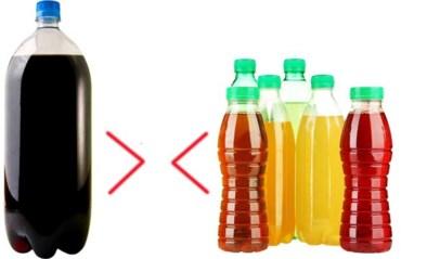 Duurzaam dilemma: één grote fles die je niet op krijgt of toch maar zes kleine flesjes?