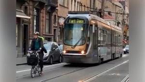 """Tramchauffeur jaagt fietser op: """"Chauffeur was niet in fout"""""""