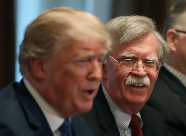 Bolton moest volgens Trump opstappen na grote fout over Noord-Korea