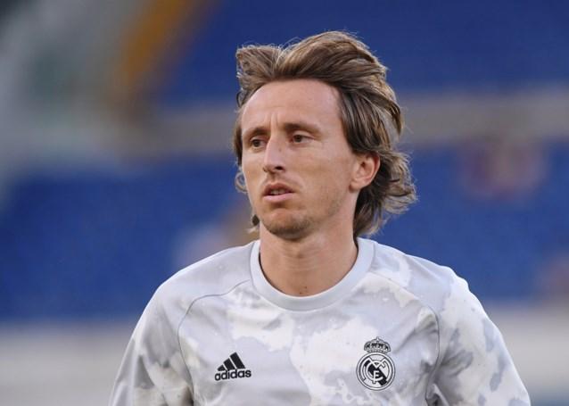 Real Madrid wellicht tegen Club Brugge zonder draaischijf Luka Modric