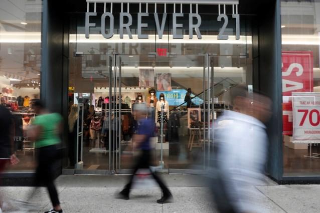 """""""100 winkels modeketen Forever 21 dicht"""""""