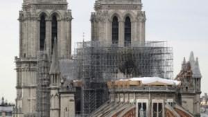 """Architect: """"Kathedraal Notre-Dame is nog altijd in gevaar"""""""