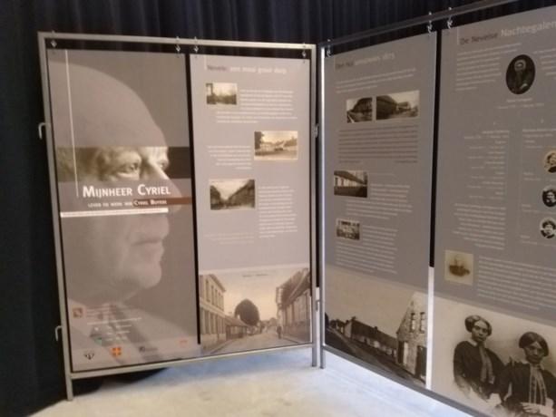 Tentoonstelling 'Mijnheer Cyriel' in Deins cultureel centrum