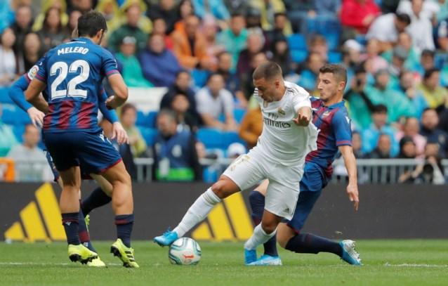 """Debuut Eden Hazard voor Real Madrid doet Spaanse pers watertanden: """"Hij flitste meteen"""""""