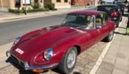 42 jaar oude Jaguar vliegt in brand tijdens zomers ritje in Langemark
