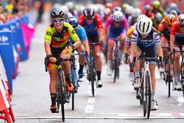 Chloe Hosking snelt naar dagzege in Madrid Challenge, eindwinst voor Lisa Brennauer