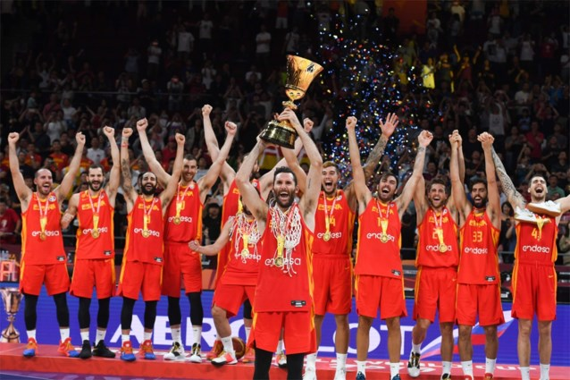 Spanje verovert tweede wereldtitel basket na vlotte zege tegen Argentinië in finale