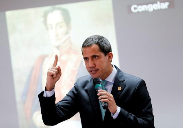 """Venezolaanse oppositieleider Guaido: """"Onderhandelingen met regering definitief mislukt"""""""