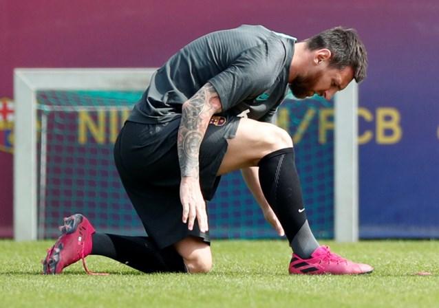 Barcelona kan in opener tegen Dortmund toch rekenen op Messi