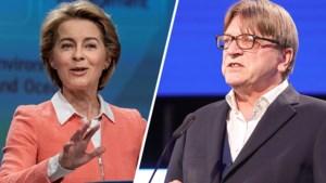 Von der Leyen blijft bij controversiële titel voor nieuwe Eurocommissaris, Verhofstadt dreigt kandidatuur in dat geval niet goed te keuren