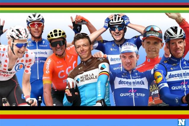 Belgische selectie voor WK wielrennen is compleet: ook Tim Wellens, Yves Lampaert en Tim Declercq mogen naar Yorkshire